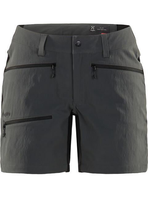 Haglöfs W's Rugged Flex Shorts Magnetite/True Black